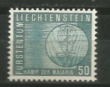 Liechtenstein Scott#371 MNH Fight against the Malaria 1962