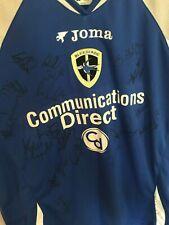Signed Cardiff City 2006/07 Shirt