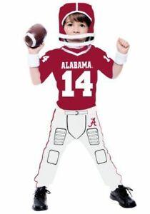 University of Alabama Toddler football Costume 3t/4t Bama Costume