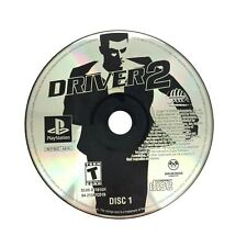 Driver 2 Disc 1 PS1 Sony Playstation 1 DISC ONLY