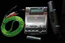 SONY MZ B100 WITH BUILT IN MICROPHONE MD  MINIDISC RECORDER .