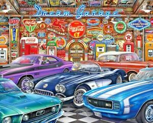 1000 Piece Puzzle by Springbok Dream Garage 2020 Made in the USA
