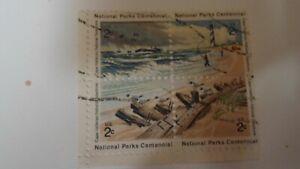 US Stamps BLK OF 4 1972 National Parks Centennial Commem. UF/FVFSC# 1448-51