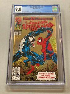 1993 Amazing Spider-Man #375 March 1993 CGC 9.0 Venom NEW CASE 010