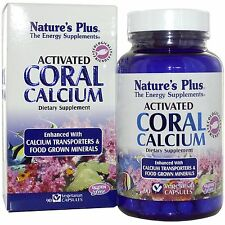 Natures Plus Nature's Plus Coral Calcium Activated 1000mg 90 Veg Capsules