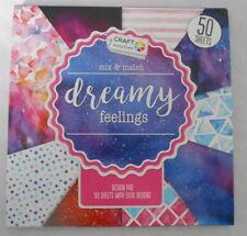 Craft Sensations *SAMPLE* 10 15cm x 15cm *Dreamy Feelings* for cards & crafts