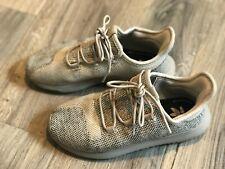 Boys Adidas Ortholite Tubular Size Us 3 Beige Cream Shoelaces Athletic Sneakers