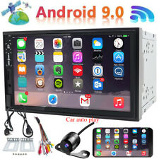 Double 2Din 7inch IPS Android 9.0 Quad Core Car Radio In Dash Stereo GPS OBDII
