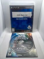 Call of Duty Black Ops COD - Manual and Disk Only - Playstation 3 PS3