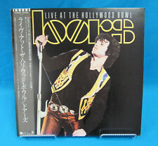 The Doors Live At The Hollywood Bowl P-6250 Elektra Records Japan w/ OBI Strip