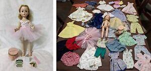 "Lot Vintage Madame Alexander Margot Margaret 14"" Ballerina Doll Clothes 1950s"