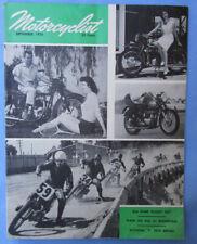 1956 Motorcyclist Motorcycle Magazine/Book Bsa Road Rocket Nsu Dkw Puch Racing
