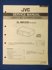 JVC XL-MK500 Car Audio CD Changer Service Manual Factory Original The Real Thing