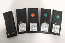Lot of (5) Motorola NTN7143DR 7.2V Battery OEM HT1000 MTS2000 MT2000 PTX1200