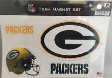Green Bay Packers Team Magnet Set Licensed Made USA Car Magnet Gift