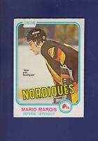 Mario Marois RC 1981-82 O-PEE-CHEE OPC Hockey #279 (EX) Quebec Nordiques