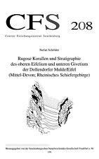 Schröder (1998): Rugose Korallen Dollendorfer Mulde/Eifel. CFS 208
