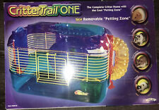 Critter Trail One Hamster Gerbil Mouse Cage Home Petting Zone Super Pet