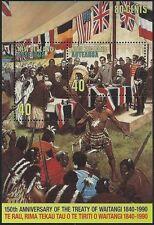 New Zealand 1990 TREATY OF WAITANGI (2 IN MINISHEET) MNH SG MS1540