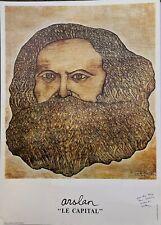 Arslan affiche offset signée 1981