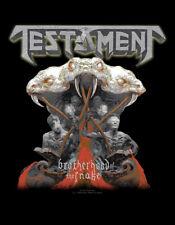 Testament - Brotherhood back-patch-keine información #107557