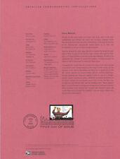 #0412 37c Henry Mancini Composer #3839 Souvenir Page