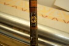 """102"""" Approx Abbey Imbrie Vintage 4Pc Bamboo Fly Rod 4Ur Heddon Rod Reel Collecti"""