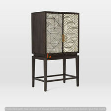Handmade Bone Inlay Bar Cabinet Stunning Beer Cabinet Attractive Cabinet