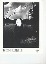 8 1/2  x 11 Glossy Photo Leon Russell {170}