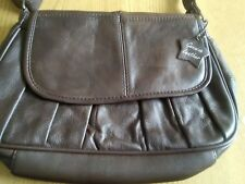 Ladies Brown Leather Atmosphere Bag new