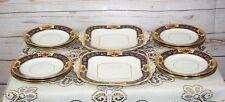 Vintage Radfords Fenton Art Deco Fine China Part Tea Set: Sandwich & Side Plates