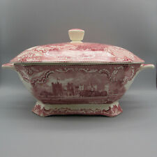 Johnson Brothers Old Britain Castles - Pink Large Soup Tureen