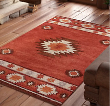 Handmade Tufted Wool Area Rug