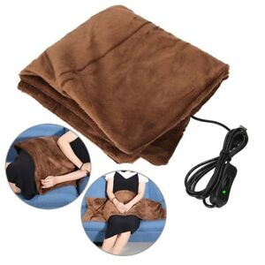 Electric Winter Warm Heating Blanket Office Home Chair Pad Flannel 110-220V