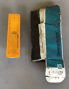 NOS 1974 CAPRICE 1975 IMPALA RH FRONT SIDE MARKER ASSEMBLY GM CHEVROLET CHEVY