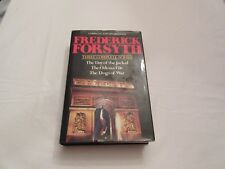 3 Complete Novels by Frederick Forsyth Day of the Jackal,Odessa File,Dogs of war