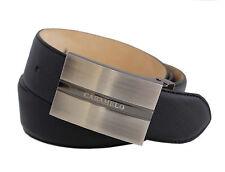 Caballeros caramelo cinturón de cuero cinturón de cuero, talla 90/36