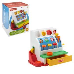 Mattel Fisher Price 72044 Kinder Registrierkasse Kasse + Zubehör für Kaufladen