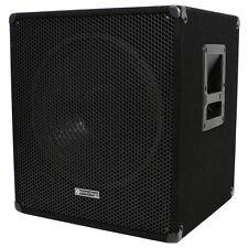 "Evolution EL-SUB 15A 600W 15"" Active PA Subwoofer, DJ, Disco, Live, Sub Bass Bin"