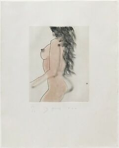 """JIM DINE """"UNTITLED"""" EIGHT LITTLE NUDES 1982 