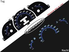 Plasma Tacho Tachoscheiben EL-Dash LETRONIX Opel Astra F Vectra A 20-220Km/h #
