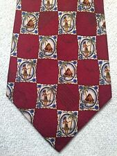 "TOMMY BAHAMA RED WITH HULA DANCES  MENS TIE 4.25"" x 60"""