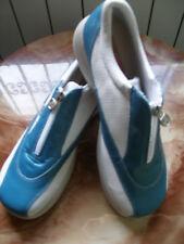 REBAJAS Besst PRECIOSOS zapatos zapatillas AZUL CON CREMALLERA, Nº 41  NUEVAS