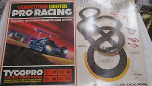TYCO PRO RACING SET HO SCALE