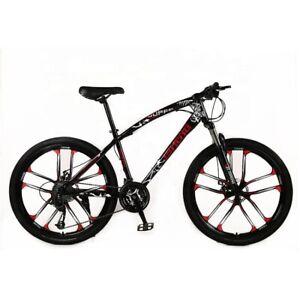 26 Zoll MTB Mountainbike 21 Gang Fahrrad Federgabel Scheibenbremsen NEUE B Ware