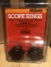 Millet 1� angle loc, scope rings, Weaver style