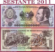 HONDURAS -   5 LEMPIRAS 2008    -    P 91b   -   FDS / UNC