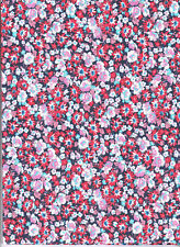 Tessuto termoadesivo Foglio A4 Fiori Iron-on patch tessuto Floreale Americana