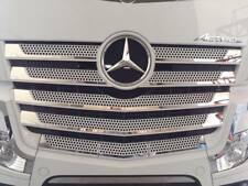 S.STEEL FOR MERCEDES BENZ ACTROS MP4 CHROME FRONT GRİLL 11PCS(WIDE CABİN)