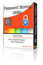 Contraseña almacenar software de utilidad recordar login cifrado Manager seguro Dvd